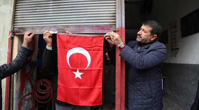 Eyyübiye Türk Bayrakları İle Donatılıyor-Videolu Haber