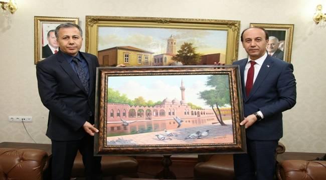 Gaziantep Valisi Ali Yerlikaya Şanlıurfa'da