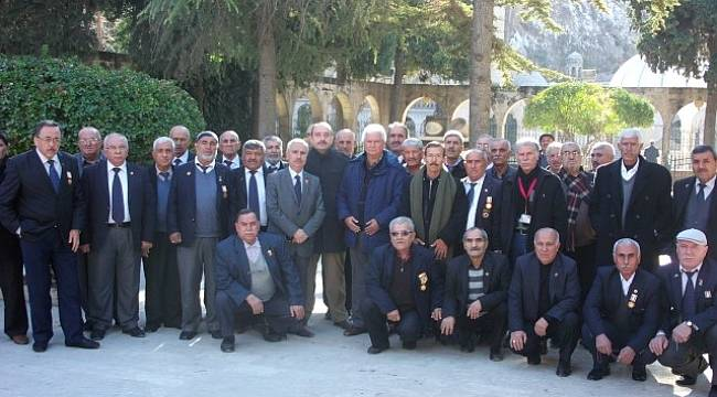 Gaziantepli Gaziler Şanlıurfa'yı gezdi