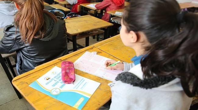 Haliliye'de 67 ortaokulda deneme sınavı düzenlendi-Videolu Haber