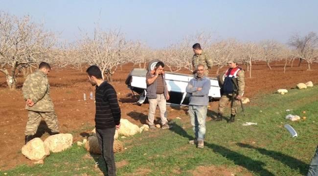 Hilvan'da Kaza, 4 Yaralı