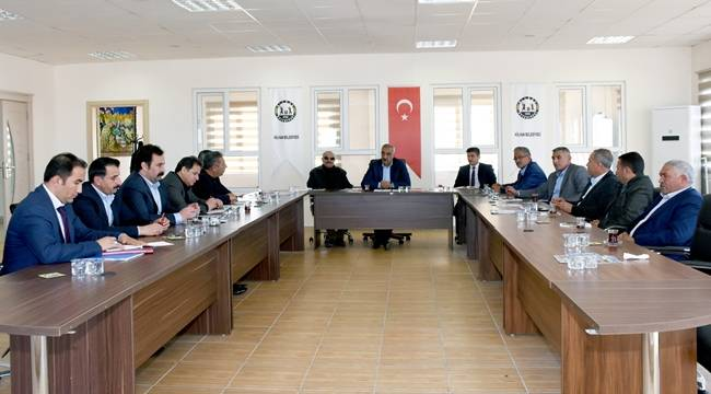 Hilvan'da Ocak Ayı Meclis Toplantısı Yapıldı