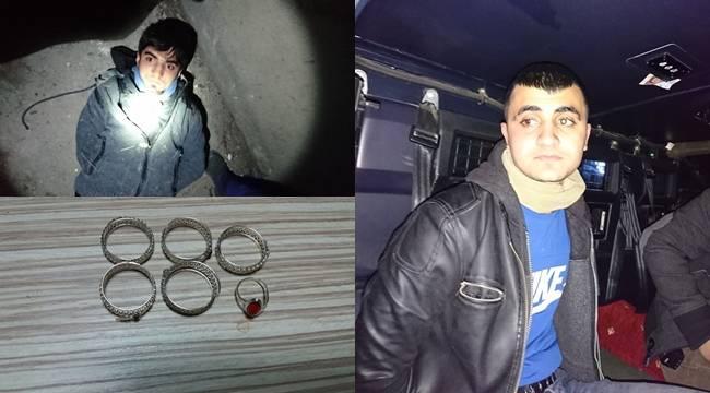 Hırsızlar Önce Komşuya Sonra da Polise Yakalandı