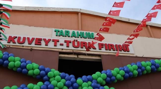 Kuveyt - Türk Ekmek Fırını Şanlıurfa'da Açıldı-Videolu Haber