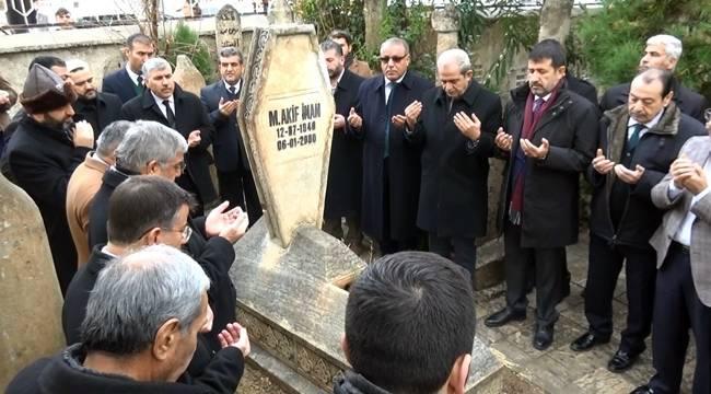 Mehmet Akif İnan Dualarla Anıldı- Videolu Haber
