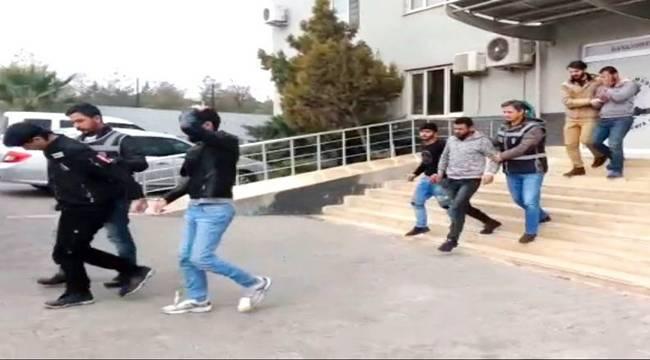 Şanlıurfa'da 5 Suriyeli Hırsız Yakalandı