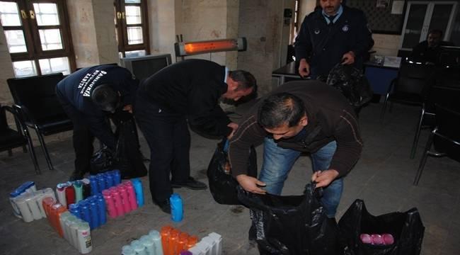 Şanlıurfa'da Sahte Şampuanlar Yakalandı