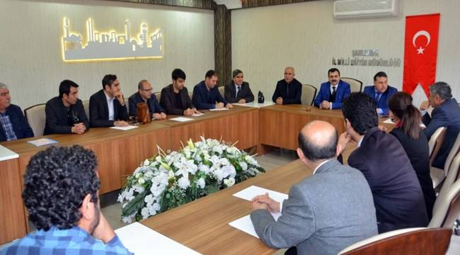 Şanlıurfa Meb Müdürü Özel Okul Müdürleri Toplantı Yaptı