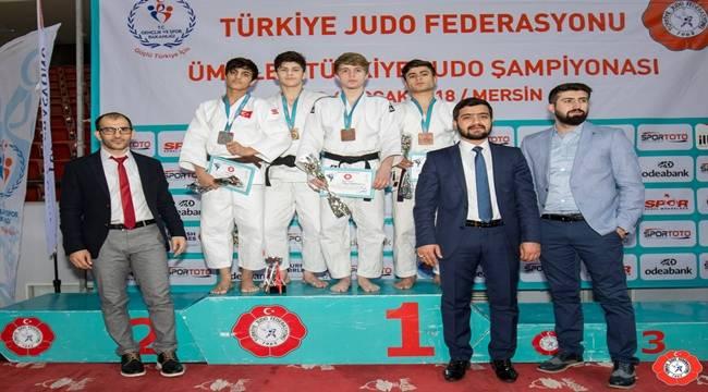 Şanlıurfalı judocu Türkiye 3.'sü oldu