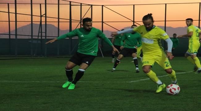 Şanlıurfaspor Hazırlık Maçında Osmaniyespor ile Karşılaştı