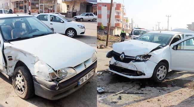 Siverek'te Trafik Kazası, 2 Yaralı