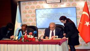 Somali İle Balıkçılık Anlaşması İmzalandı