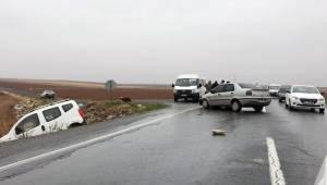 Suruç'ta trafik kazası, 7 yaralı