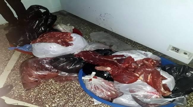 Urfa'da Kaçak Et Operasyonu