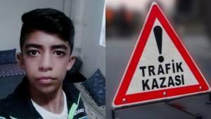 Urfa'da Motosiklet Kazası, 1 ölü, 1 yaralı