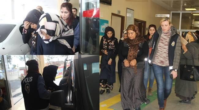 Urfa'da O Kadınlar Yakalandı