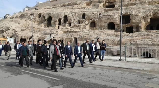 Urfa'daki İki Makamın Yolları Birbirine Bağlanıyor-Videolu Haber