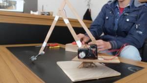 Urfalı öğrenci atık malzemelerden biyonik el yaptı