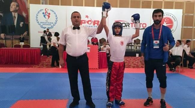 Urfalı Sporcu Türkiye Birincisi Oldu