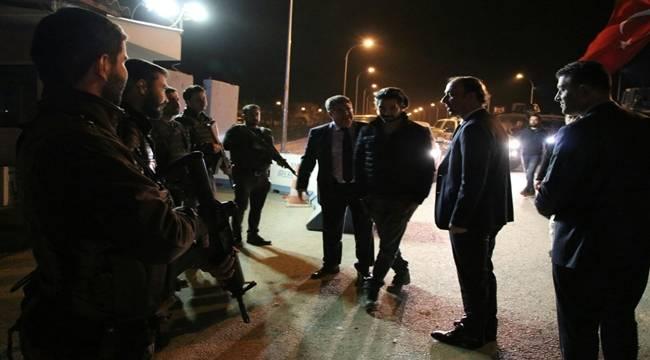 Vali Erin Şanlıurfa Sınır Güvenliğini İnceledi