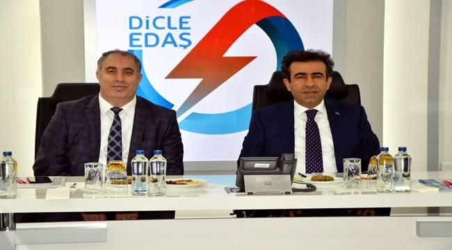 Vali Güzeloğlu'ndan Dicle Elektrik'e ziyaret