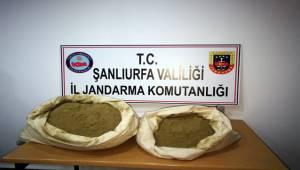 Viranşehir'de 25 Kilo Esrar Ele Geçirildi