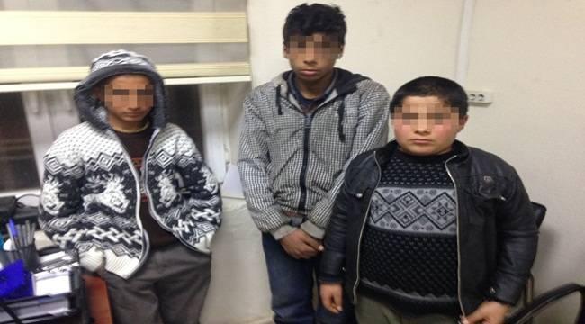 Viranşehir'de çocuk hırsızlar yakalandı