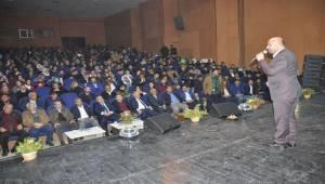 Viranşehir'de Ömer Döngeloğlu'na Yoğun İlgi