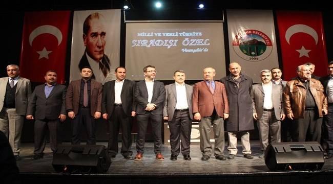 Viranşehir'de Sıra Dışı Konferans- Videolu Haber