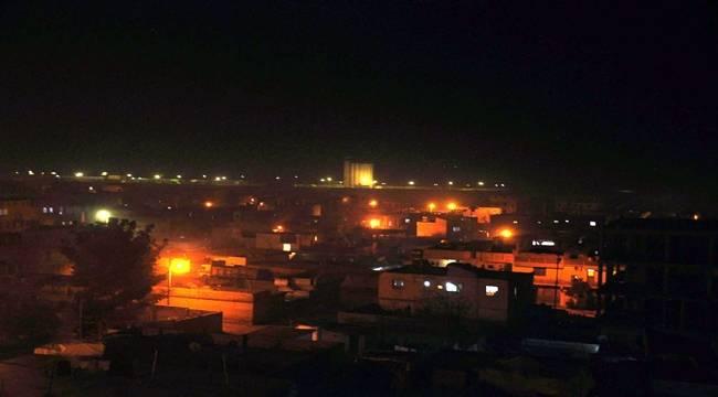 Akçakale'ye Gece Boyu Taciz Ateşi Açıldı