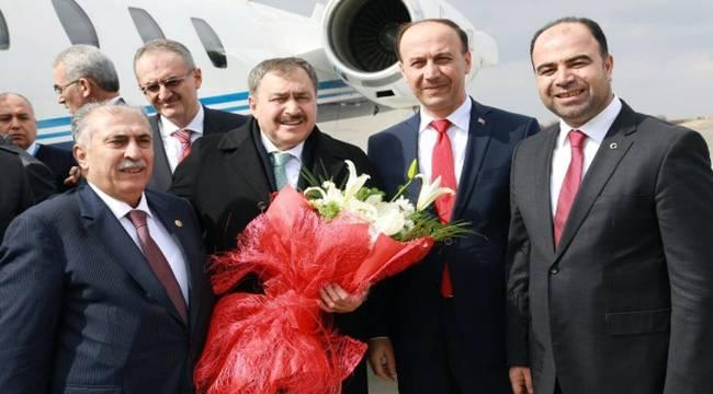 Bakan Eroğlu Şanlıurfa'ya Geldi