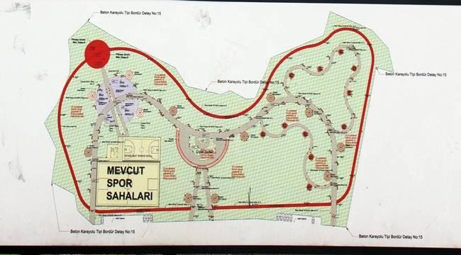 Bozova Kent Parkı ve Bozova Mezarlığının Onarımı Sürüyor