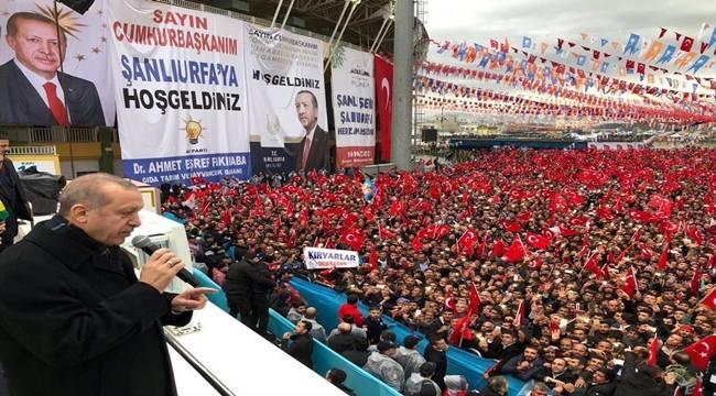 Erdoğan, Şanlıurfa'da Salih Müslim ile ilgili Açıklama Yaptı