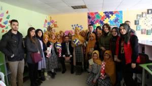 GHSİM'den okul kütüphanesine destek