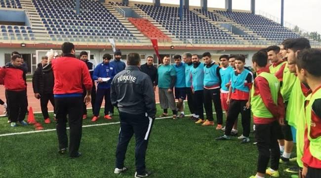 Harran Üniversitesi BESYO'da Futbol Antrenörlük Kursu