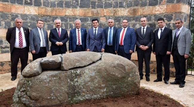 İçişleri Bakan Yardımcısı Viranşehir Belediyesini Ziyaret Etti