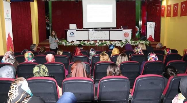 Karaköprü'de Çocuk Konulu Eğitim Semineri Verildi-Videolu Haber