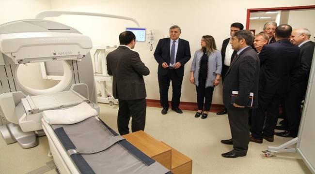 PET/CT cihazı ve Sintigrafi Ünitesi Açıldı-Videolu Haber