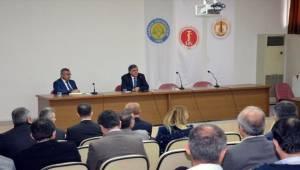 Rektör Taşaltın Veteriner Fakültesinin Sorunlarını Dinledi