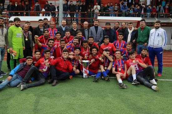 Şanlıurfa 1. Amatör ligi şampiyonu Hilvan Belediyespor