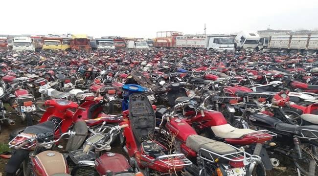 Şanlıurfa'da 2 milyon TL değerinde 153 çalıntı araç ele geçirildi