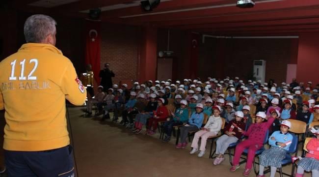 Şanlıurfa'da Minik 112 eğitim projesi devam ediyor