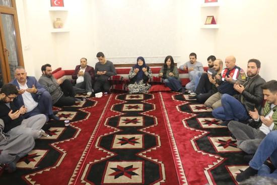 Şehit asker ve polisler için Kur'an-ı Kerim okutuldu
