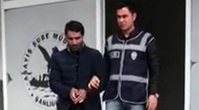 Urfa'da Otomobillerin Camını Kırarak Hırsızlık Yapan Zanlı Yakalandı
