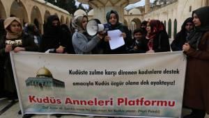 Urfalı Kadınlardan Kudüs'teki Zulme Tepki-Videolu Haber