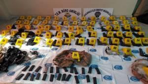 69 Kaçak Tabanca Yakalandı, 3 Gözaltı