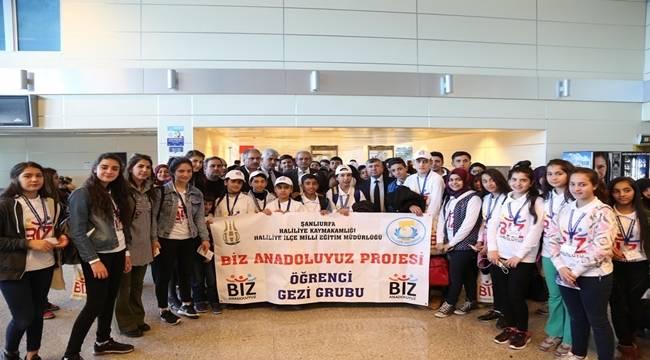 761 Şanlıurfalı Öğrenci İstanbul'a Uğurlandı-Videolu Haber