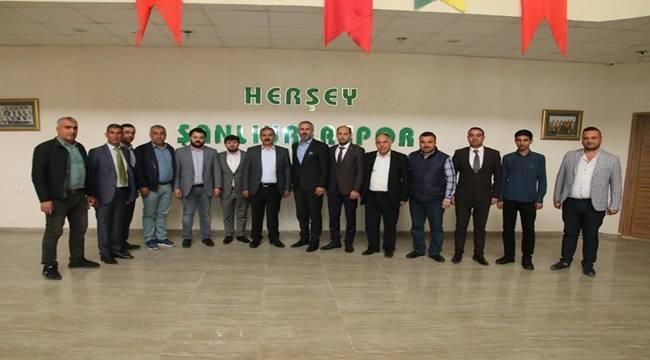 AK Ocaklar'dan Şanlıurfaspor'a Ziyaret