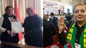AK Parti Karaköprü Kadın Kolları Başkanı Değişti