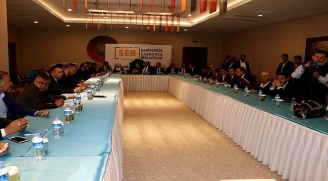 Ak Parti Şanlıurfa'da Ekonomi Forumu